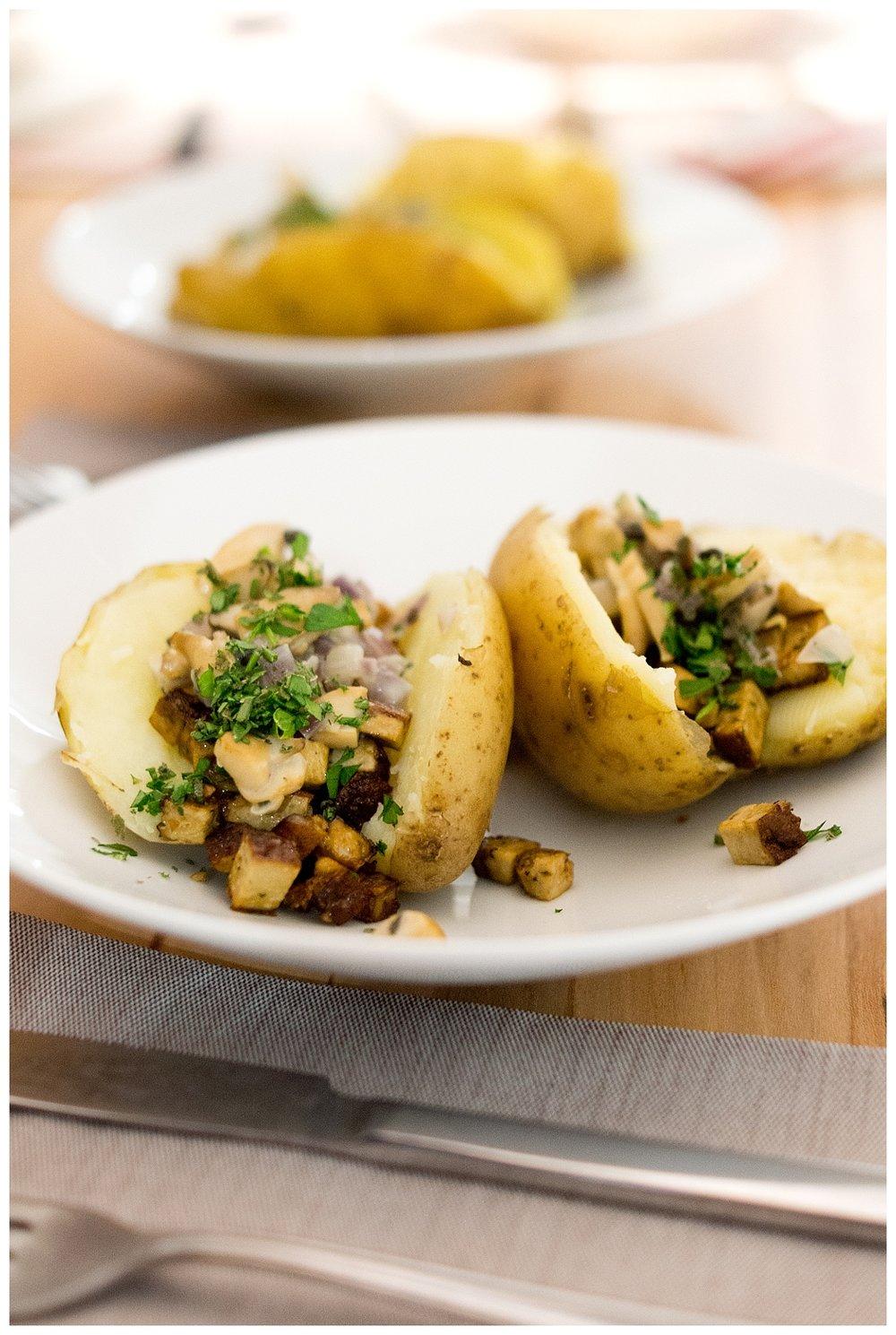 Folienkartoffeln ohne Folie