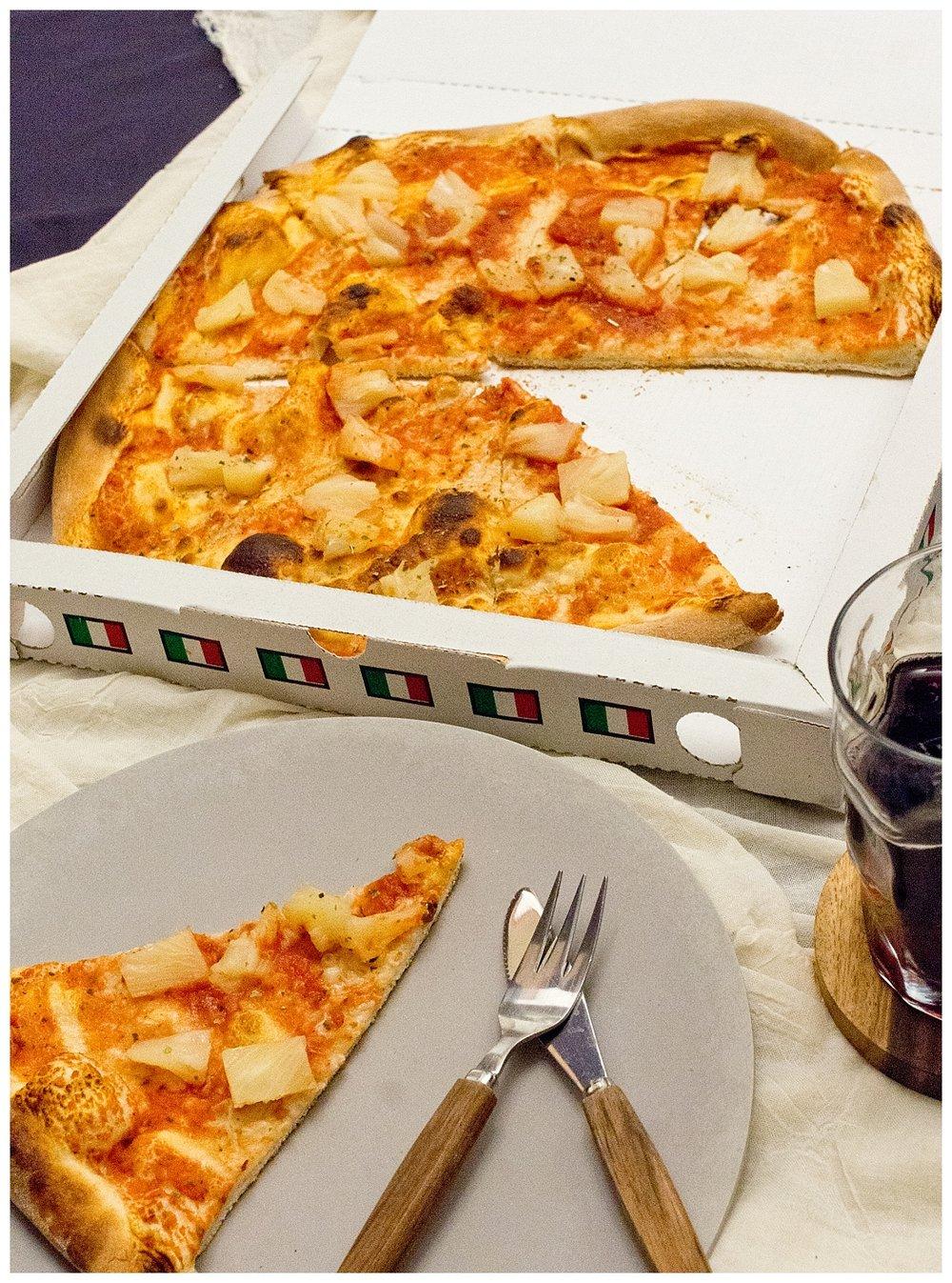 vegane Pizza  - Guiseppe - mjam