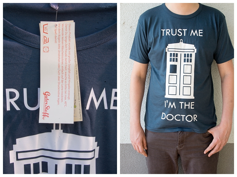 Trust me i´m the doctor - Guter Stoff