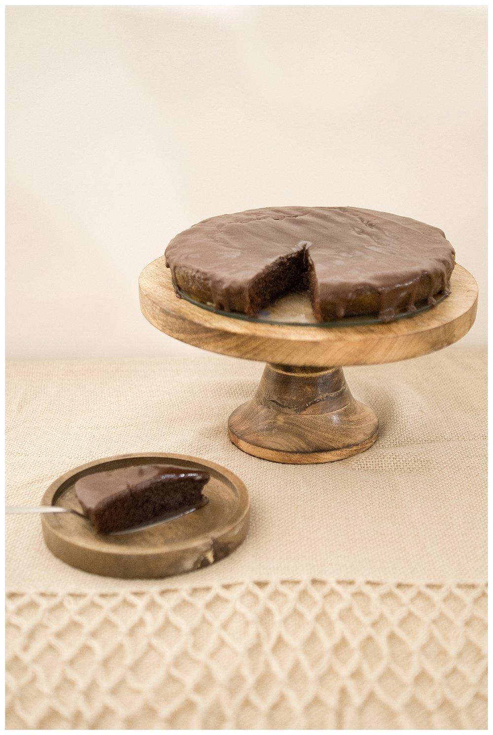 veganer Schokoladekuchen