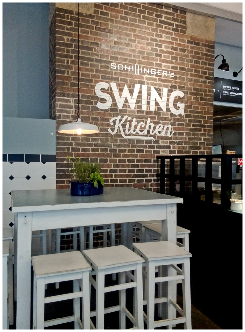 Swing Kitchen - vegane Burger