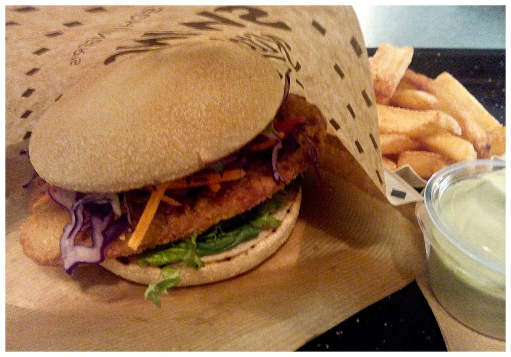 Swing Kitchen, vegane Burger