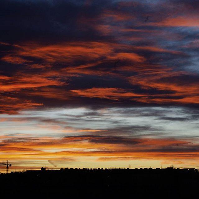 Farbenspiel der Nature! Leider ist es immer viel zu schnell wieder verschwunden. Nicht desto trotz ist diese Himmelmalerei ein Hingucker und unendlich entspannend zum ansehen.  #lovecolouredskies #aquarellesky #nofilteeneeded #unendlichvielefarben #farbenspiel #igersnature #skiesofvienna #instanature #natureisanartist #skyline #natureperfection #naturstagram #colorexplosion