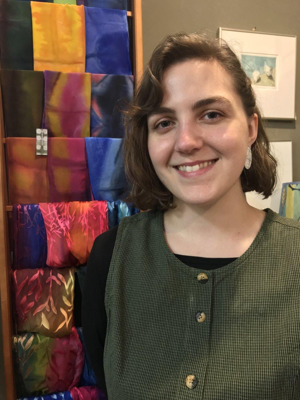 EC-CHAP Artist In Residence, Rebecca Zablocki
