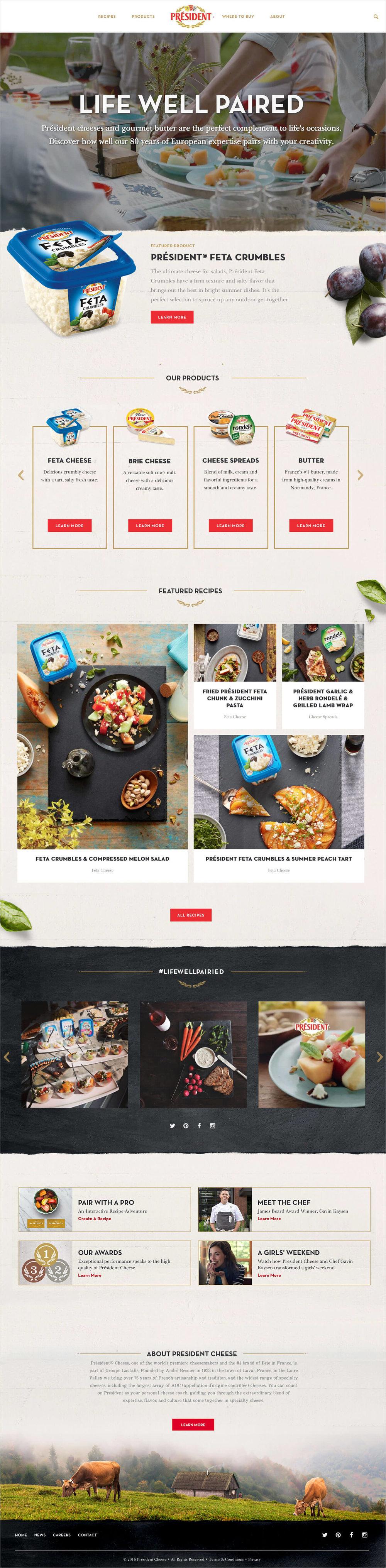 president-cheese-website