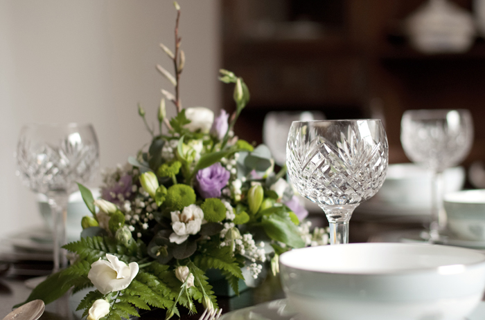 Our client loved our attention to detail when sourcing tableware and objects d' art in Mayfair.