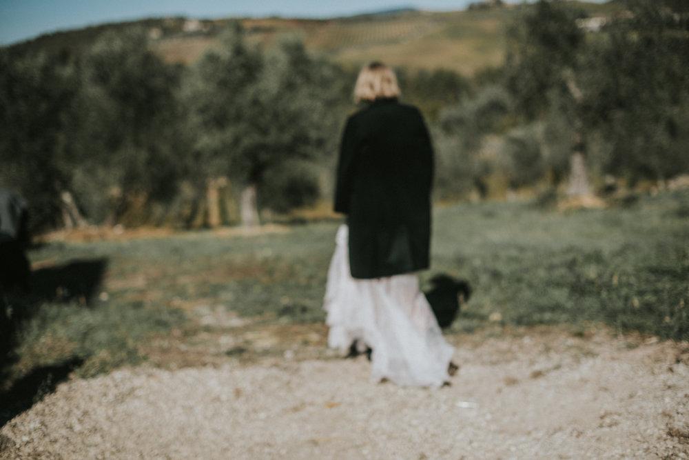Panna Młoda w Toskanii Solo / Bride Solo in Tuscany