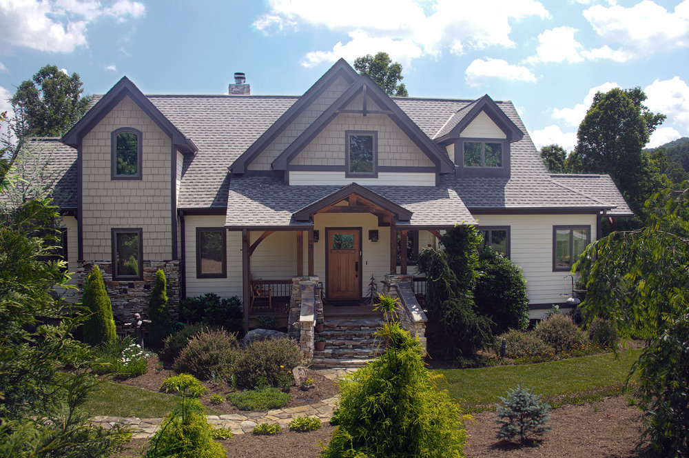 Reems Creek Traditional Home