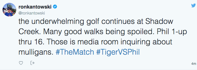 If you care.  Phil won on the 22nd hole.  Ho Hum.