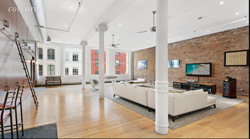 15 Mercer Street        SoHo, NYC  1 BC | 1.5 BA | $5,950,000