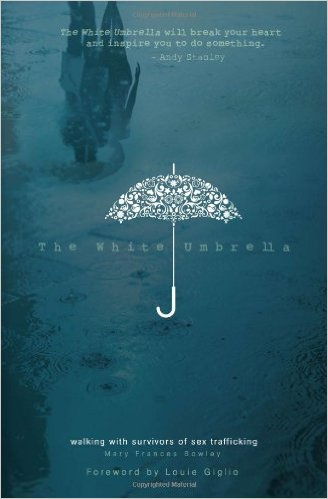 The white umbrella   by mary fances bowley