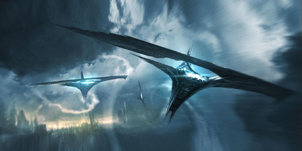 Darke Elves Troopships