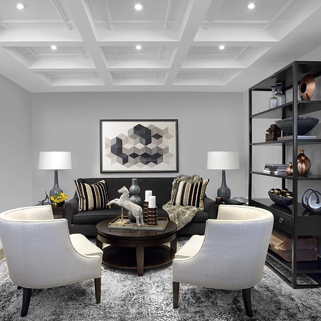 #SneekPeak of one our latest project photoshoots. Ceiling details that make this room shine! #interiors by #GlenAndJamie #pelosoalexanderinteriors #pelosoalexanderfurniture