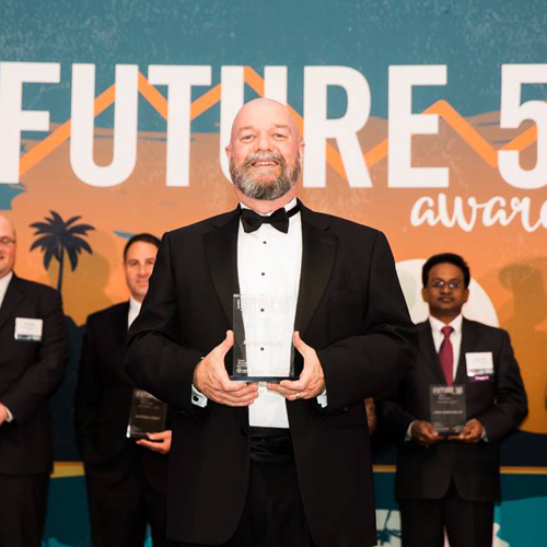 William Amann ME Engineers Future 50 award