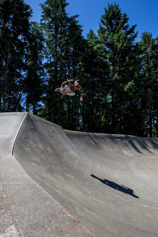 Zach Newton - That Grab - Photo by Brad Oz