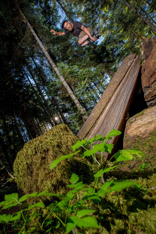 Levi Sebastian Mute to Tree Roll - Photo by Brad Oz