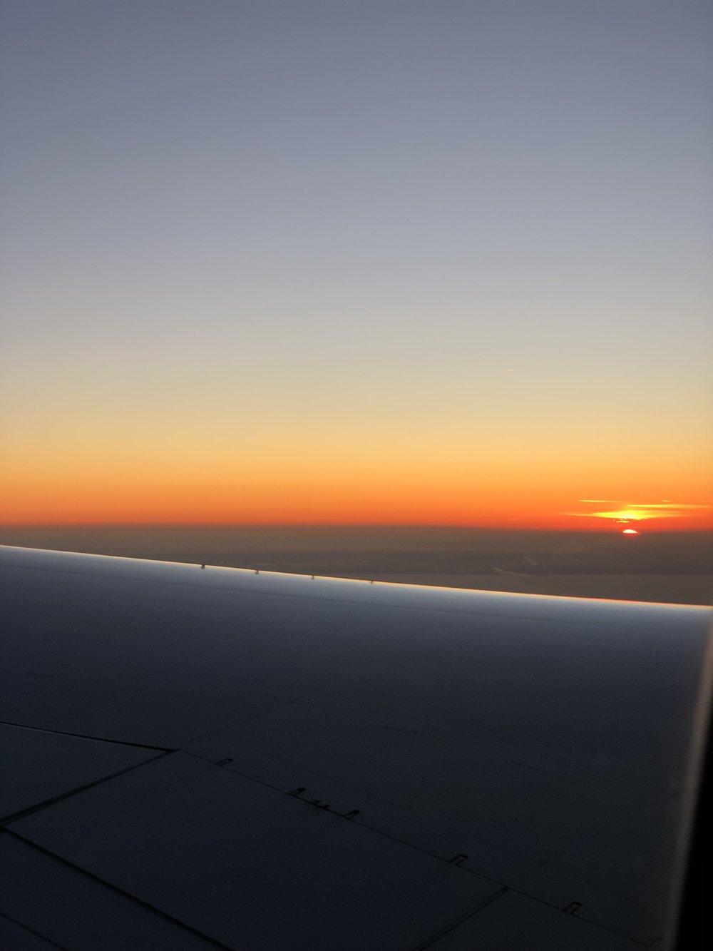 Dawn over Holland - photo by Travis Stewart