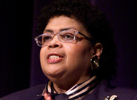 Linda Brown in a 2004 photo
