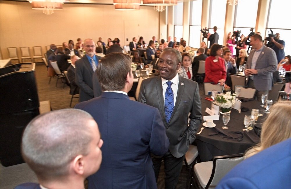 News - Gov attends Urban League Black history month breakfast - Picture 1.jpg