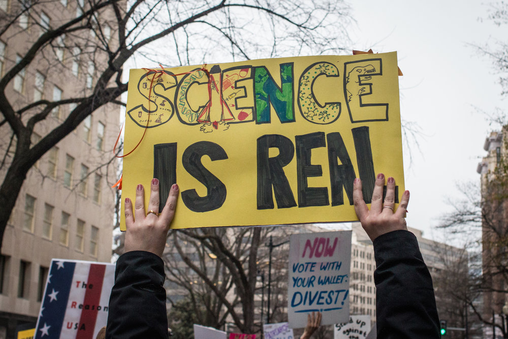 Thousands of scientists are taking to the streets this weekend to demand respect for science and scientists. The March for Science on Washington, and in hundreds of cities around the country and world, takes place on April 22nd.