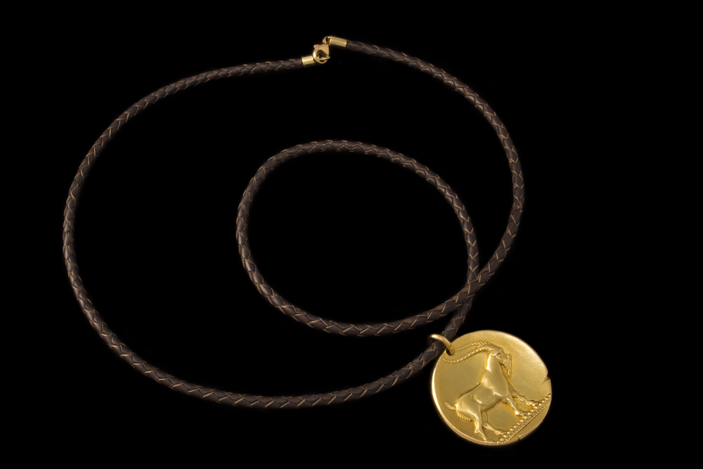18k gold Van Cleef & Arpels Capricorn pendant, 1970s