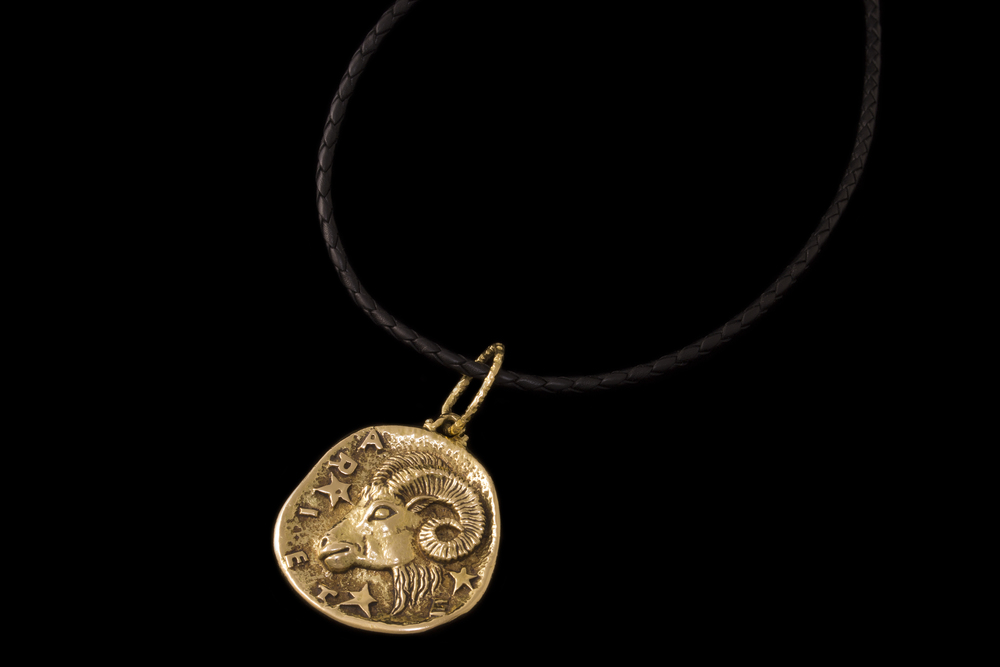 An Aries ram by Gioconda, available at Mahnaz Collection, is another chic alternative.