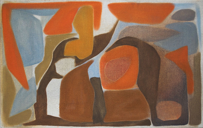 Christian Aldridge - Rhythm, 2018. Oil & distemper on canvas