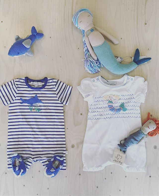 One for the ocean lovers, mermaids and sharks 🧜🏽‍♀️🦈 . . . . #oceanlover #mermaids #sharks #oceanlovers #saveourseas #ethicalstore #lifestylestore #maileg #albetta #newquay #cornwall #kernow #kernowfornia
