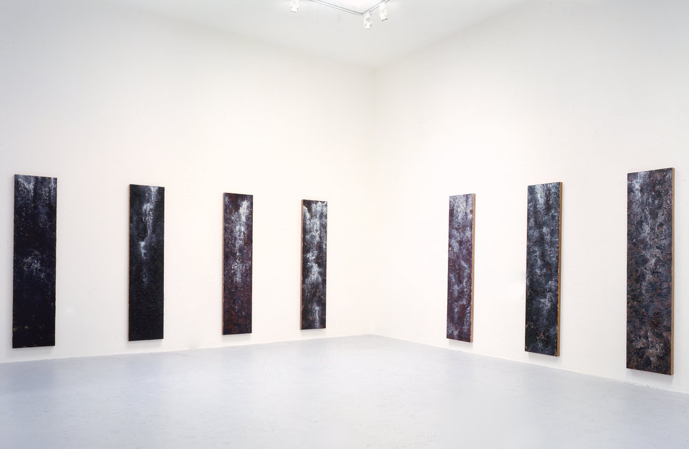 Waterfall Paintings, James Corcoran Gallery, Santa Monica, 1990;  exhibition catalog