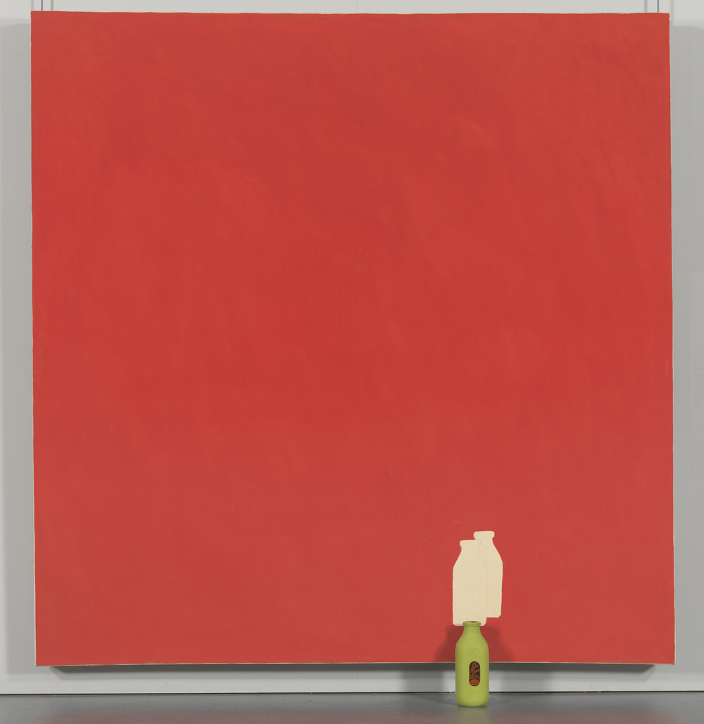 Small Space (Milk Bottle painting), 1963,  Whitney Museum of Art