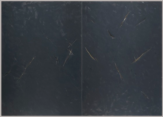 Untitled Diptych, 1977-78,  Los Angeles County Museum of Art