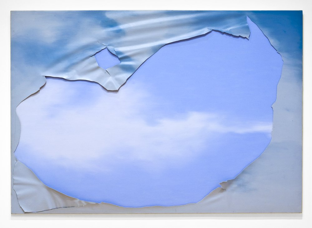 Untitled (from the Torn Sky Series), 1975-76,  San Francisco Museum of Art