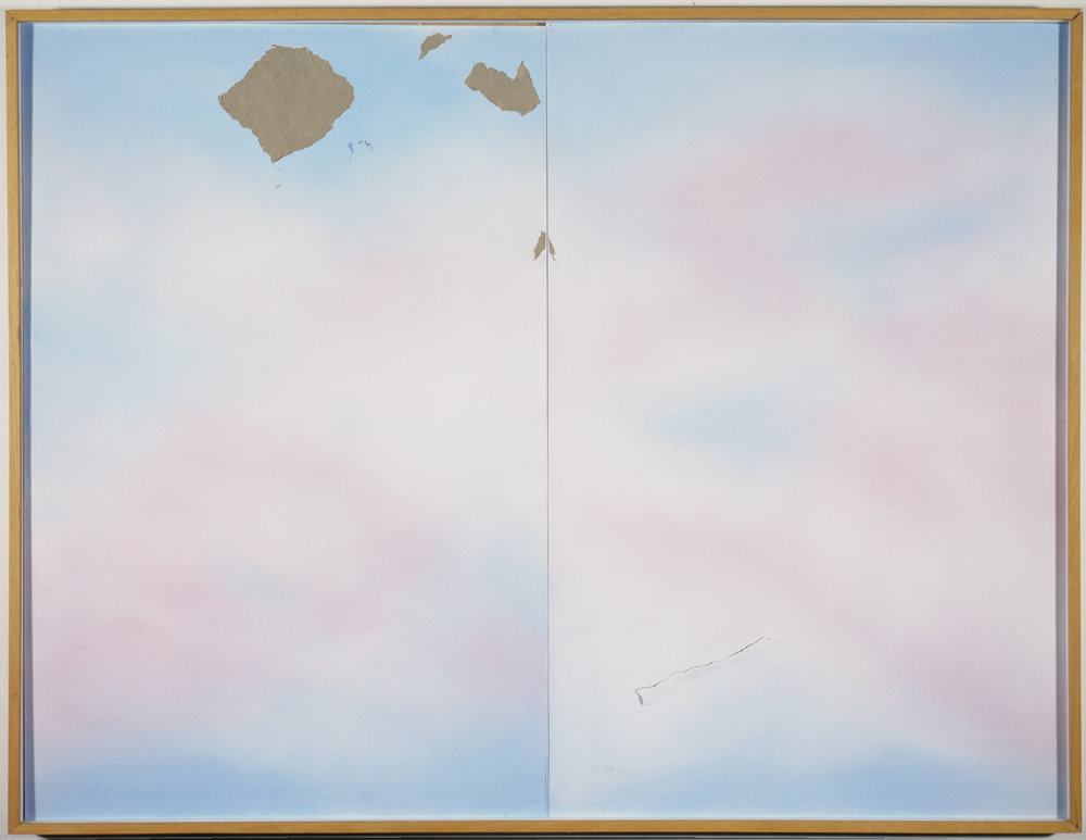 Untitled from the Vandalism Series, 1975,  Orange County Museum of Art