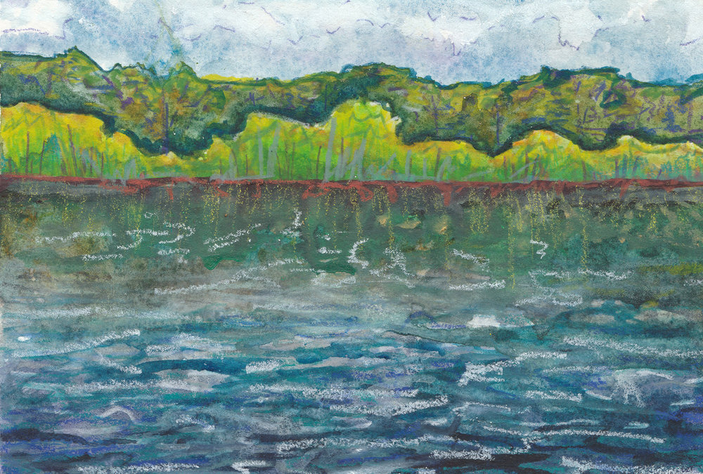 Sacred Water - Group Art Exhibition | ArtConnect Gallery April 4-27, 2019
