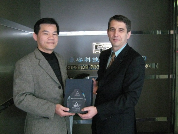 TUV Rheinland-Best Partner Award