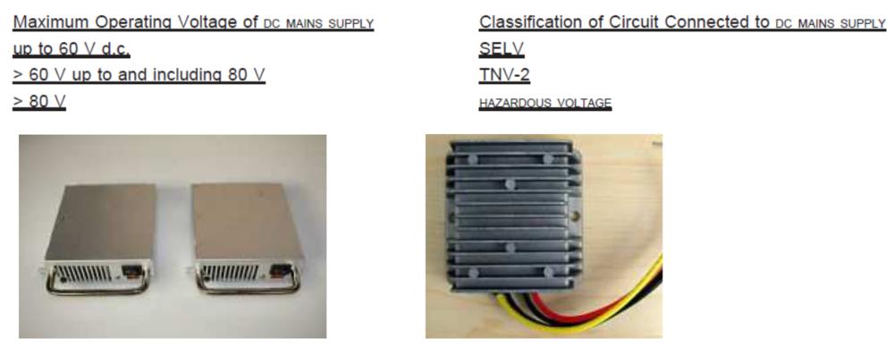 DC/DC power supply 產品範例