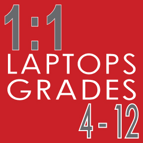 1 to 1 laptops grades 4 through 12