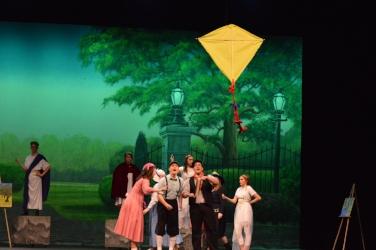 Van Wert High School Theatre students perform Disney's The Little Mermaid.