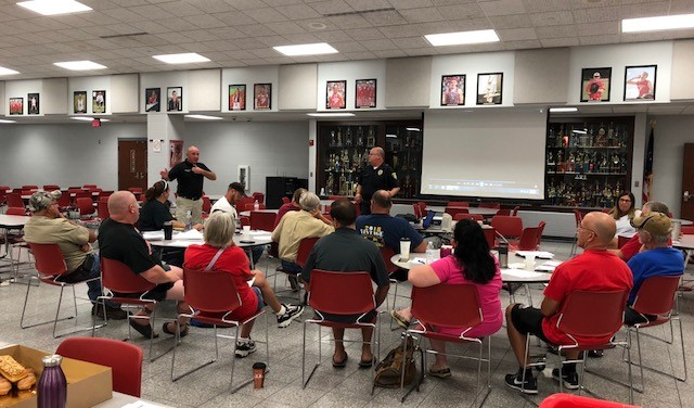 Bus drivers receive active threat training.