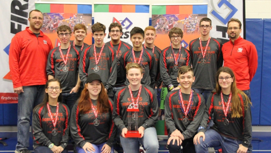 The 2017-2018 Van Wert High School Robotics Team won the Pennsylvania State Championship.