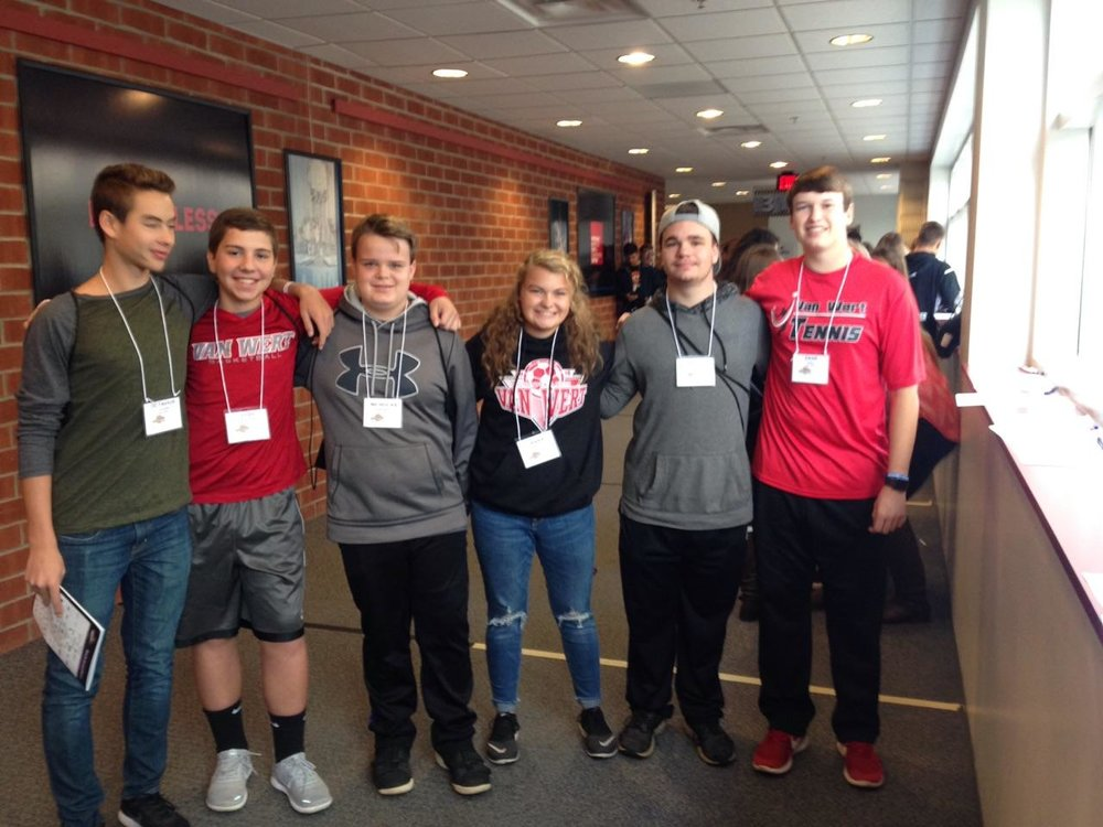 Van Wert High School students participated in Lima's MakerFest Competition