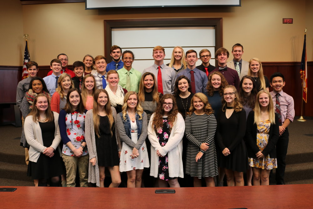 2017-2018 Sophomore Class Academic Award Winners