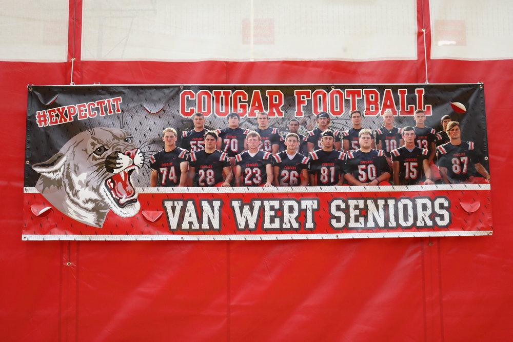 Van Wert football team athletic banner