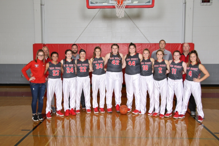 2018-2019 Lady Cougar Varsity Basketball Team