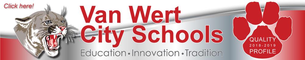 Van Wert City Schools Quality Profile banner