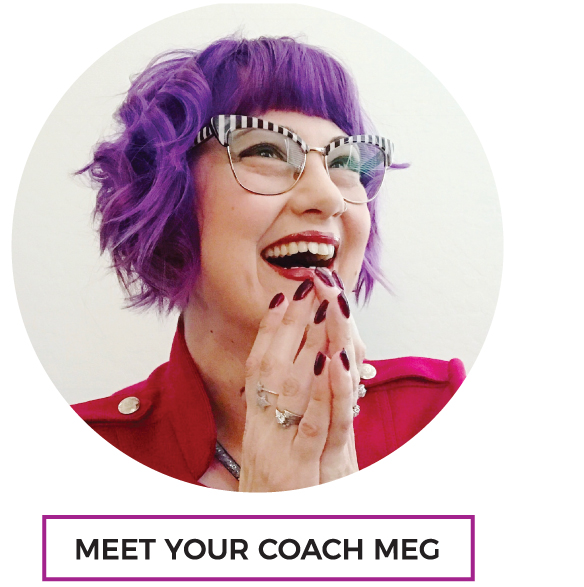 Meet Your Coach Meg: Life's a party... let's plan it!