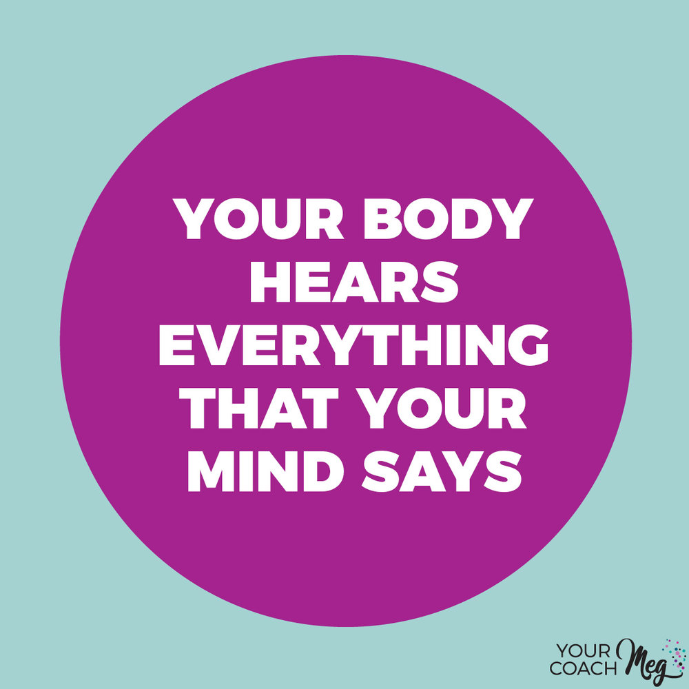 YOUR BODY HEARS EVERYTHING THAT YOUR MIND SAYS (FREE SELF-TALK WORKSHEET!)