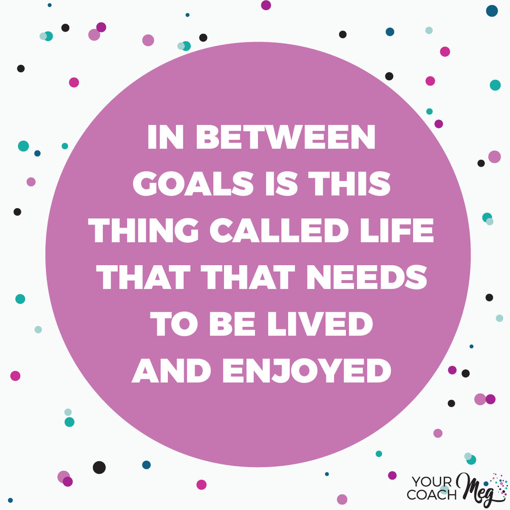 GOAL SETTING LIFE BALANCE QUOTE: 18 before 2018 a goal setting challenge