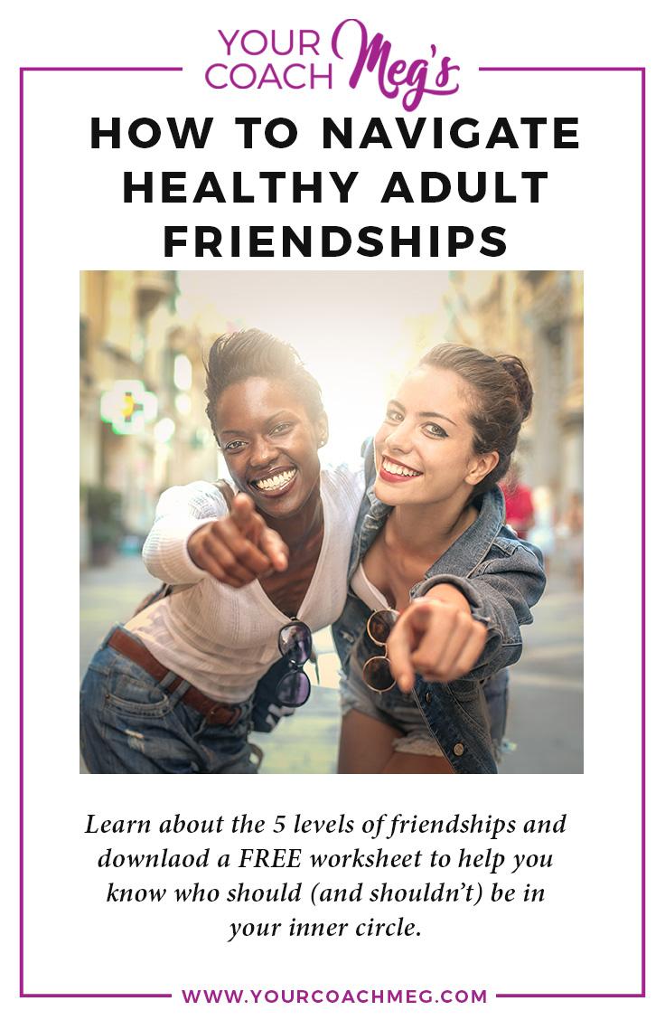 Friendships of women | Inner circle | free worksheet
