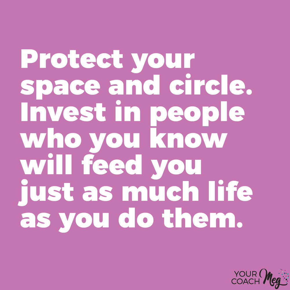 Protect your friendships inner circle